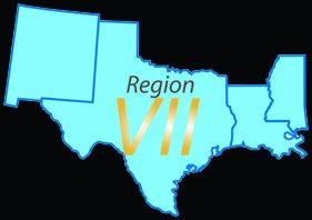 Region VII map