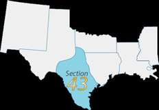 Section 43 map